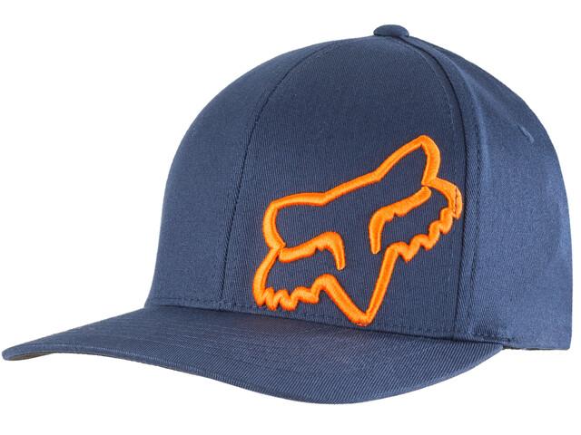 Fox Flex 45 Flexfit Hat Herren navy/orange